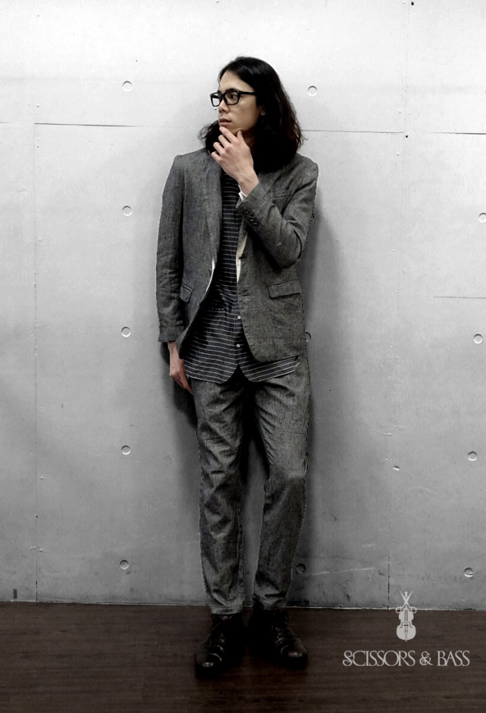 SCISSORS & BASS okazaki masahiro jazz 2016ss 春夏